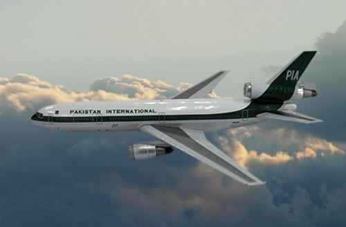 DC-10-30 PIA - Pakistan International Airlines