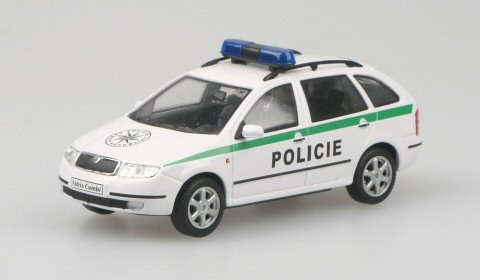 Škoda Fabia combi, Policie ČR