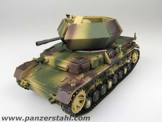 Flakpanzer IV Ostwind - Prototype, September 1944