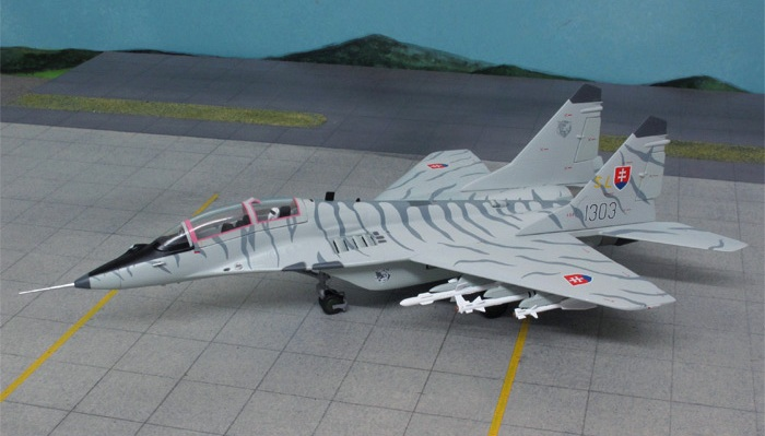 "MiG-29UBS ""1303"", Slovak Air Force, Sliač AFB"