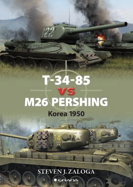 T-34-85 vs M26 Pershing, Korea 1950