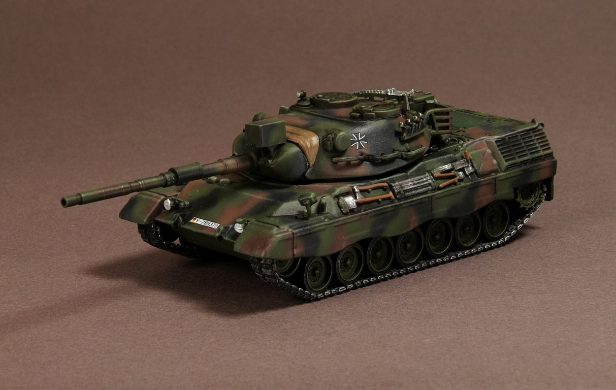 Leopard 1A5, German Pz. Battalion 74, Germany 2003