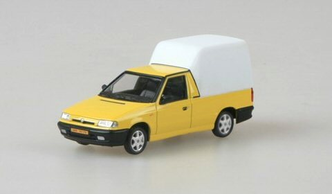 Škoda Felicia Pick-up, 1996 (Yellow Telecom)