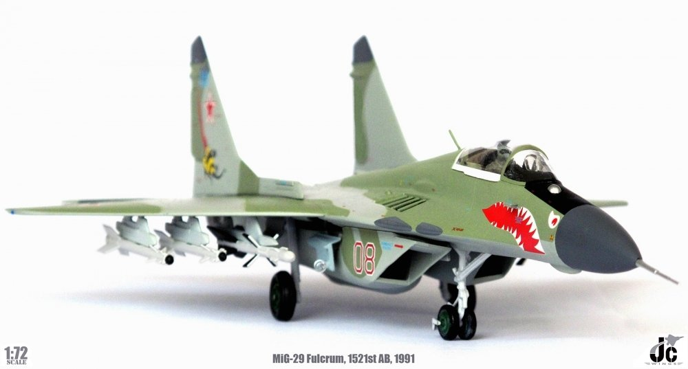 MiG-29 Fulcrum, Russian Air Force 2nd Sqad., 1521st AB, 1991