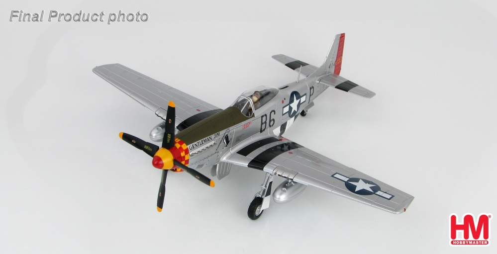 P-51D Mustang USAAF 357th FG, Gentleman Jim, J. Browning, 1944