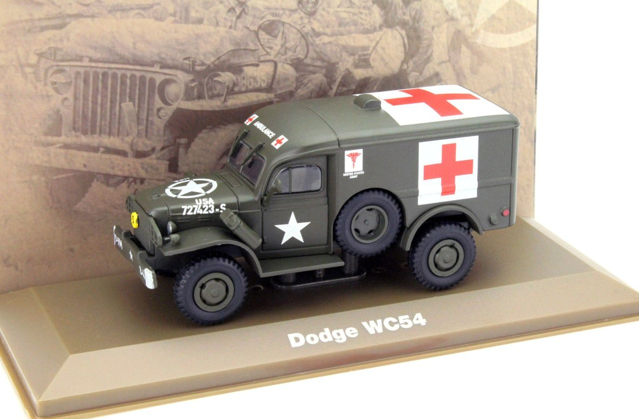 Dodge WC54, US Army Ambulance