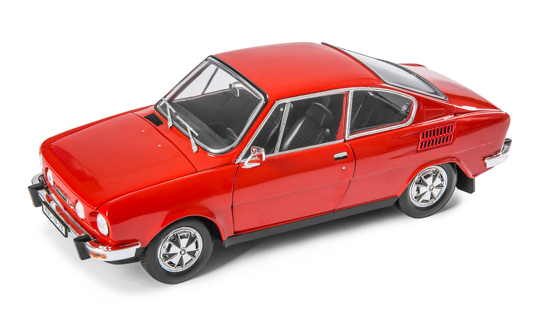 Škoda 110R Coupe, 1980 (Rosehip Red)