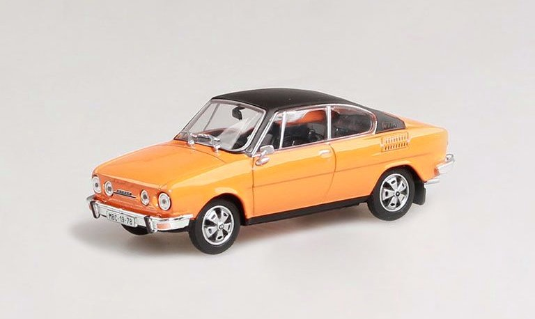 Škoda 110R Coupe, 1980 (Orange + black roof)
