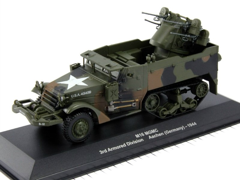 M16 MGMC Half Track US Army - 3rd Armored Div., Aachen 1944