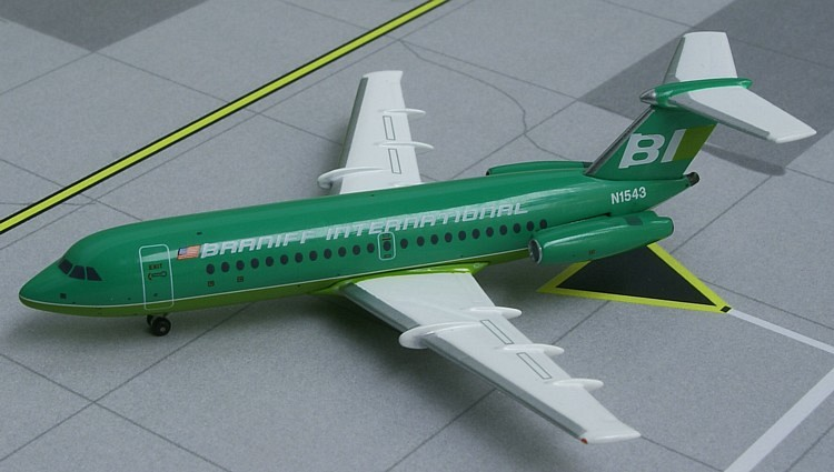 "BAC 111-203AE Braniff International ""Green - Flying Colors"""