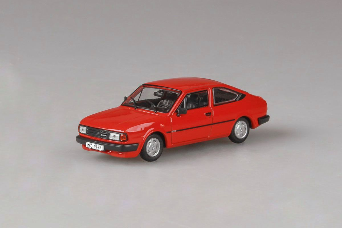 Škoda Rapid 136, 1987 (Coral Red)