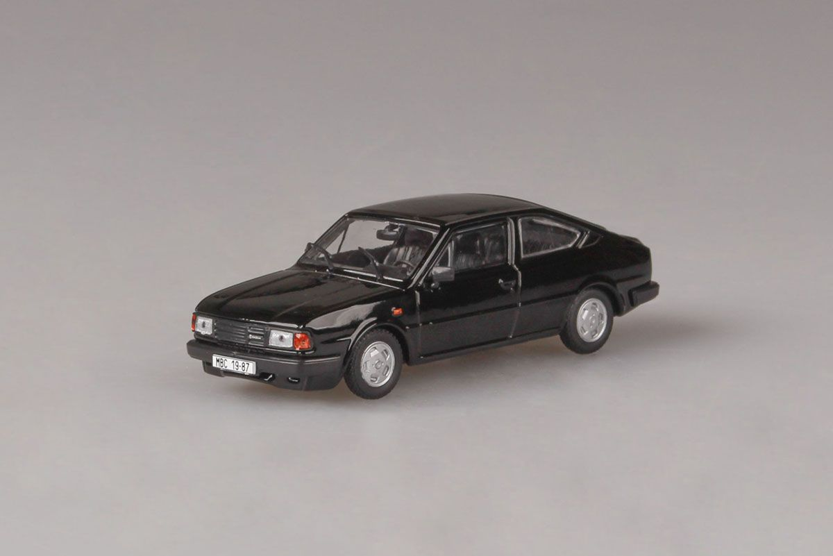 Škoda Rapid 136, 1987 (Black)