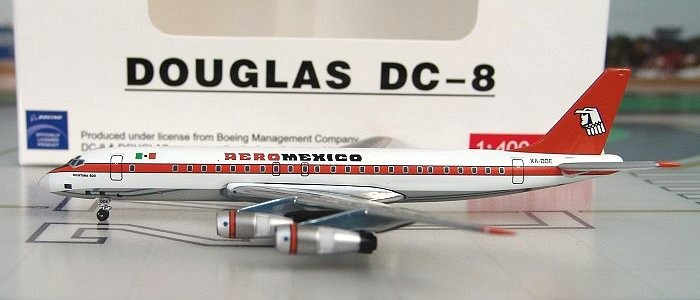 "DC-8-51 Aero Mexico ""White"""