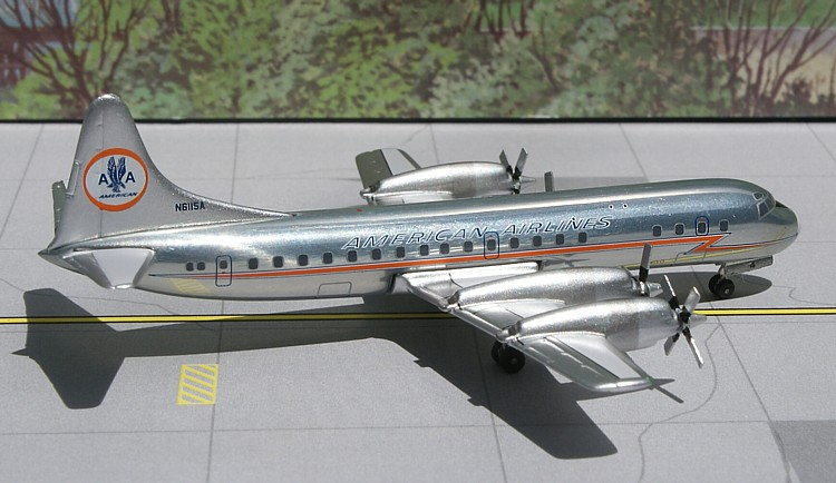 L-188 Electra American Airlines (polished)
