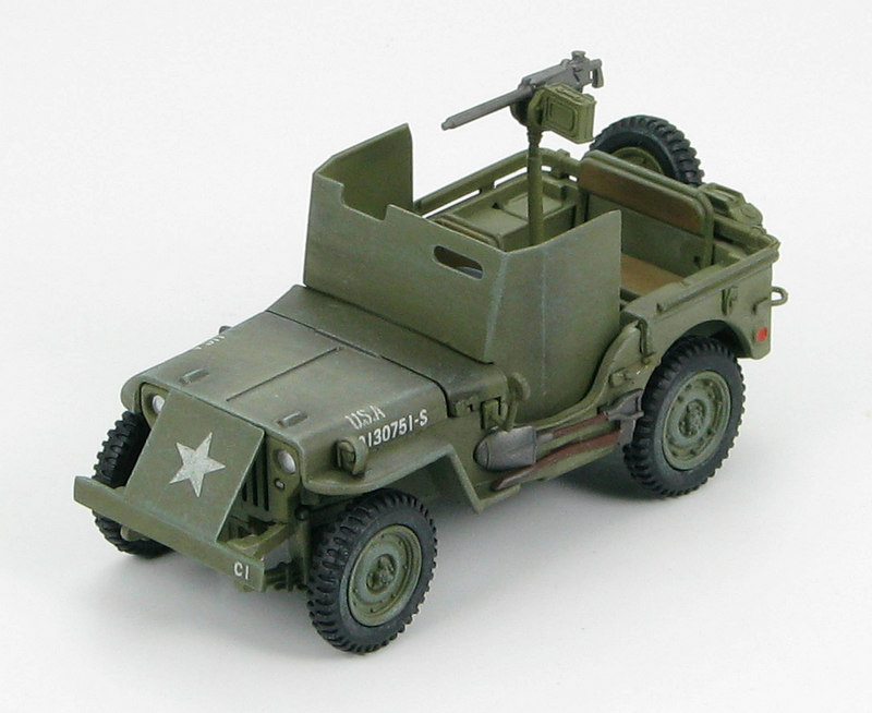 U.S. Jeep Willys M.B. w/armour shields, Europe, 1944