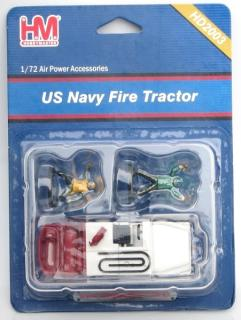 US Navy Fire Tractor