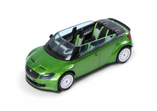 Škoda Fabia II RS2000, Concept Car 2011 (Green Rallye Metallic)