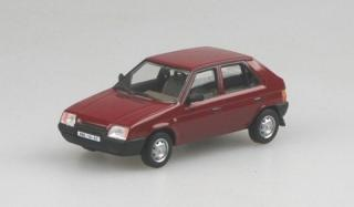 Škoda Favorit 136L, 1987 (Red Apollo)
