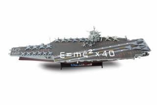 US Navy USS Enterprise Nuclear-Powered Aircraft Carrier - 40th Anniversary
