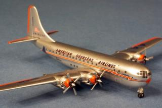 B377 Stratocruiser American Overseas Airlines