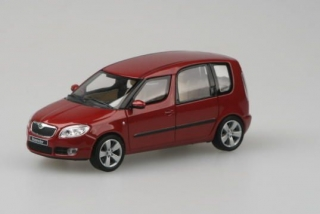 Škoda Roomster, 2006 (Red Flamenco Metallic)
