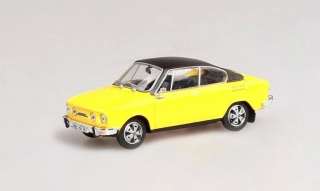 Škoda 110R Coupe, 1980 (Solar Yellow + black roof)