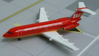 "BAC 111-203AE Braniff International ""Red / Gold - Flying Colors"""