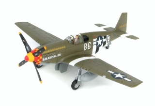 P-51B Mustang USAAF 357th FG, 363rd FS, #43-24842 Blackpool Bat, Kenneth Graeff