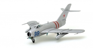 MiG-17 Fresco, Soviet Air Force, Blue 88, Czechoslovakia, August 1968